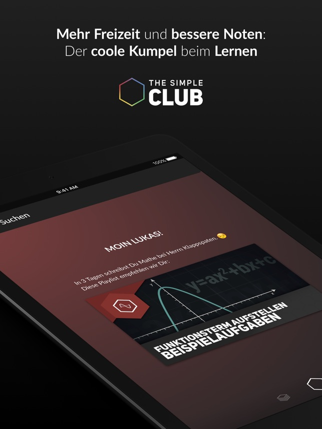 TheSimpleClub Screenshot