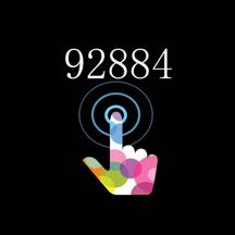 92884