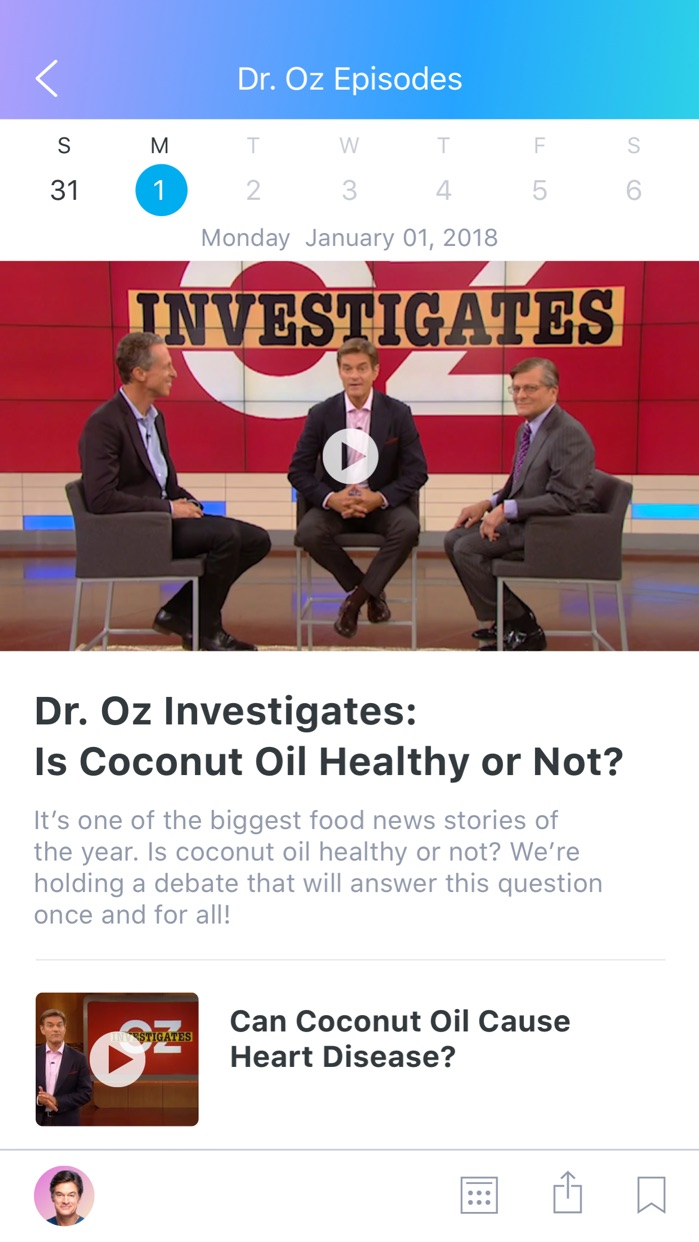 Dr. Oz Screenshot