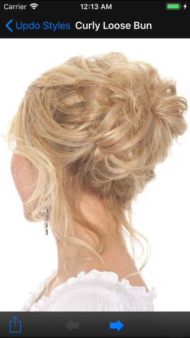 Updo Styles screenshot two