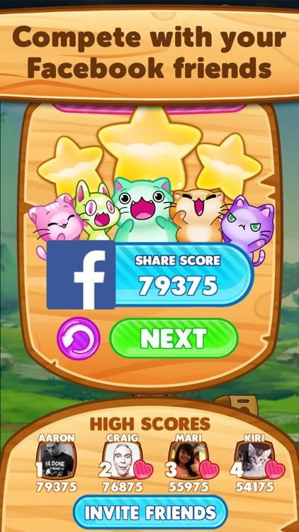 Kitty Pawp: Free Bubble Shooter Featuring Garfield screenshot-4