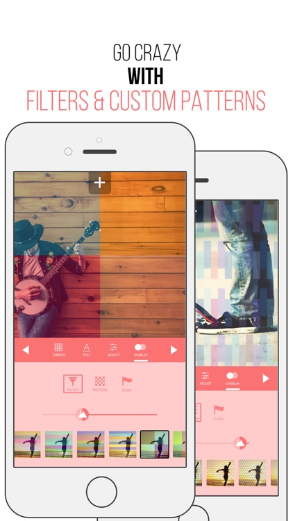 Picturesque Free - Filters Overlays Texts Quotes Over Photos Themes & Cool Gradients 9 screenshot-3