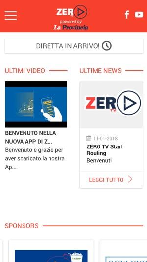 Zero Tv on the App Store