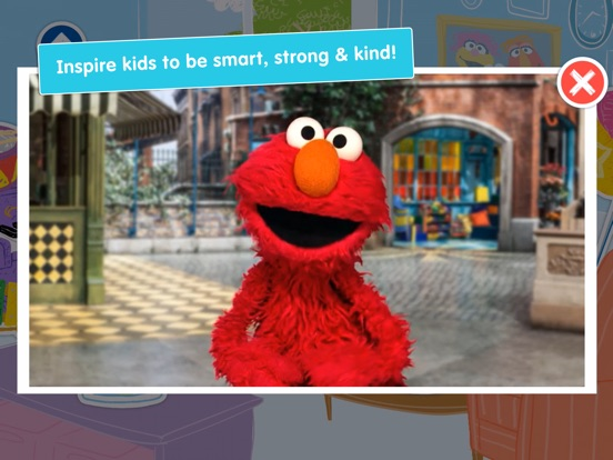 Игра A Busy Day for Elmo: Sesame Street Video Calls