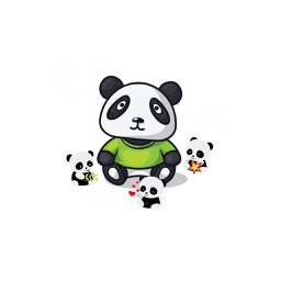 Panda Emoji - Sticker