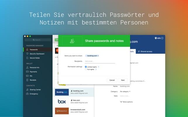 Dashlane Screenshot