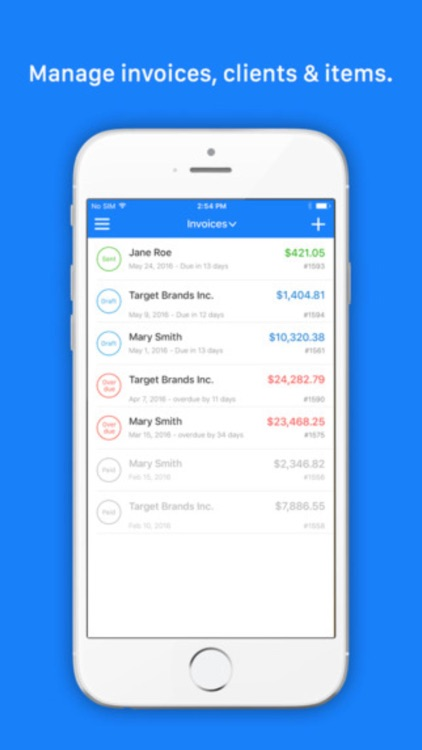 Invoice Go Pro - Invoice Maker & Estimate. Templates Bill on the go screenshot-3