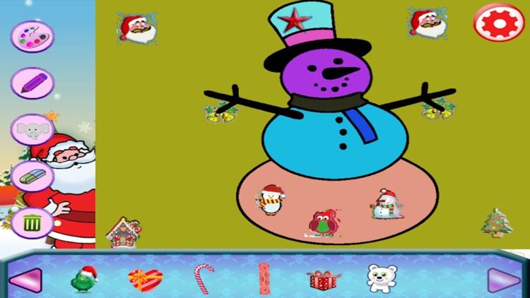 Christmas Drawing Coloring Book screenshot-3