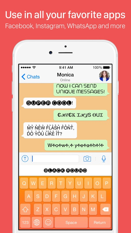 My Fonts - Custom font styles with cool text stickers and emoji screenshot-4
