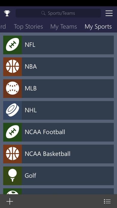 MSN Sports Screenshot