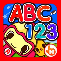 ABC 123 Reading Writing Practice HD
