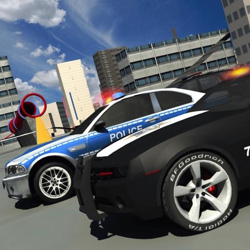 Police 3d Car Driving Simulator games iOS App