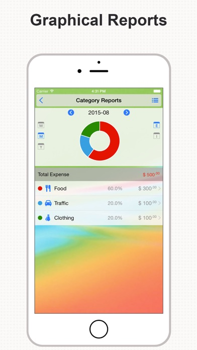 DayCost Pro - Personal Finance, Money Manager Screenshot