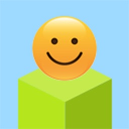 Cube Skip Emoji Fall Down : Emotion Rolling Ball Endless Games