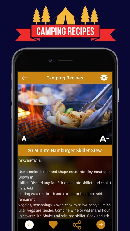 Camping Recipes screenshot-3