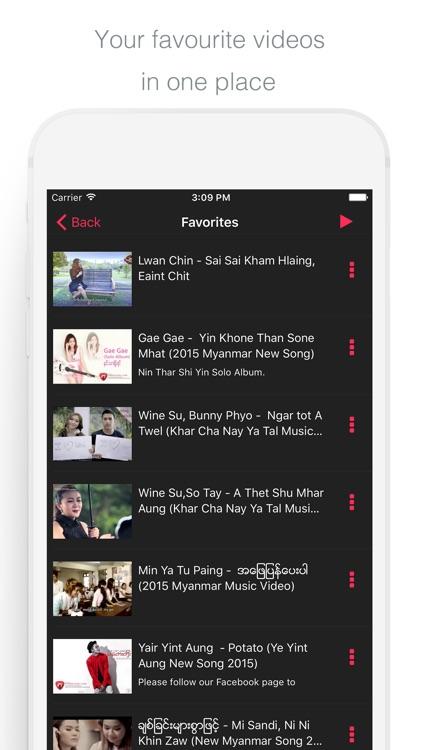 Myanmar Music Video screenshot-4