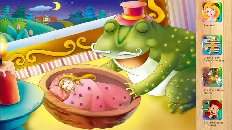 Thumbelina - Bedtime Fairy Tale iBigToy screenshot-4