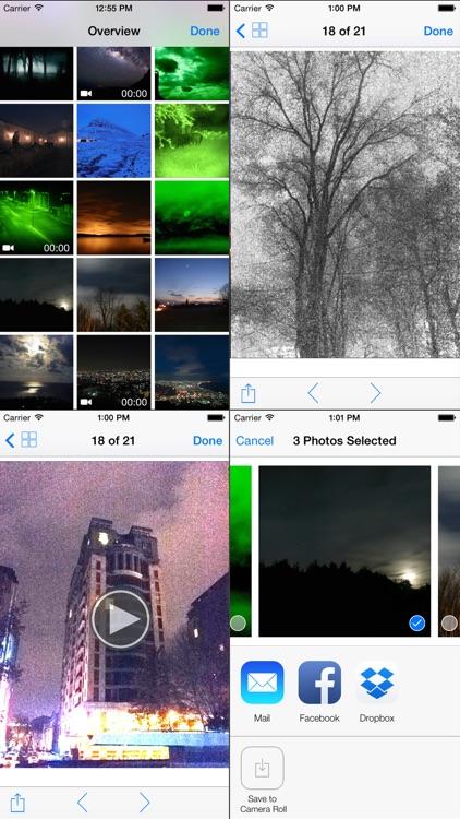 Night Vision (True night mode amplifier video app) screenshot-4