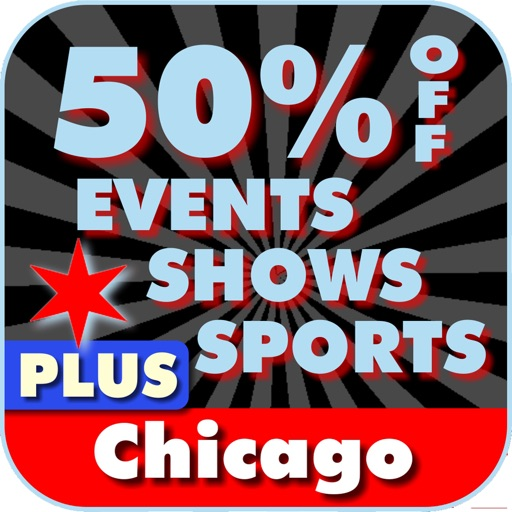 50% Off Chicago Events, Shows and Sports Guide Plus by Wonderiffic ®