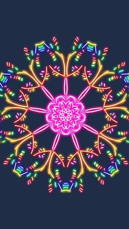 Kaleidoscope Drawing Pad screenshot-3