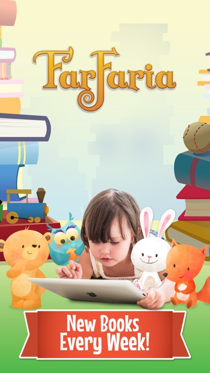 FarFaria Stories: Read Along To Me Childrens Books app image
