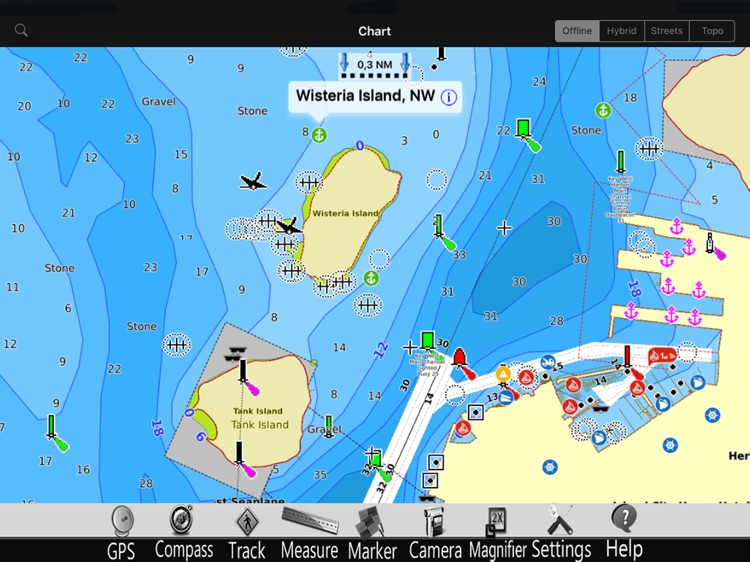Lake St. Clair GPS Charts Pro screenshot-2