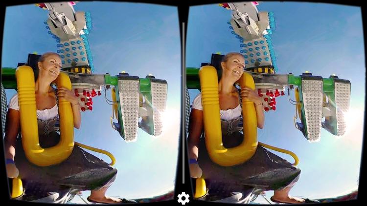 VR Oktoberfest Techno Power & Roller Coaster Ride