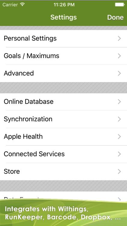 CaloryGuard - Track calories screenshot-4