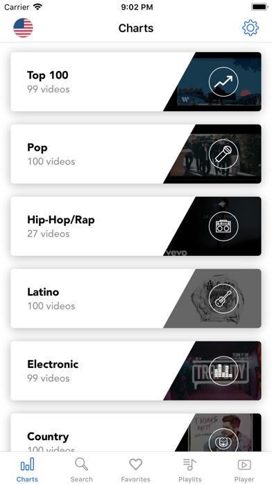 Music Unlimited · screenshot three