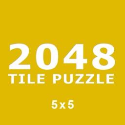 2048 Tile Puzzle (5x5)
