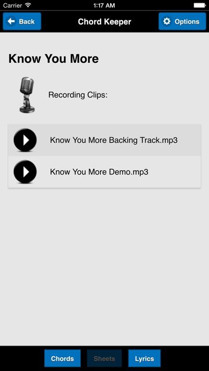 Chord Keeper screenshot-4