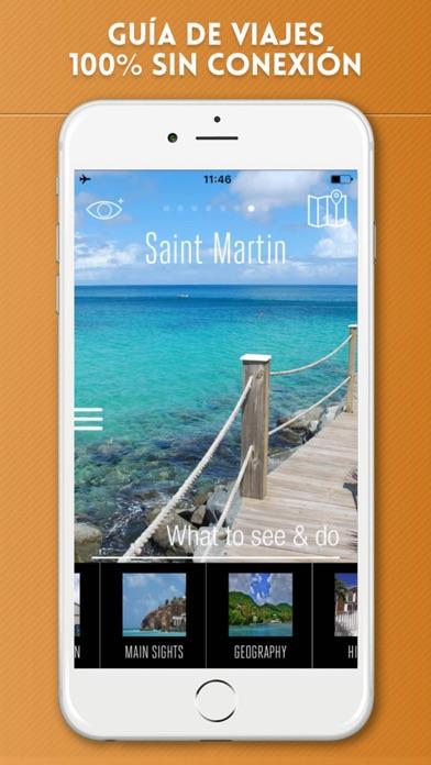 Isla de San Martín Guía de Viaje con Mapa OfflineCaptura de pantalla de1