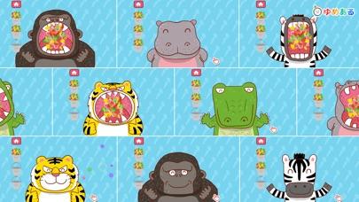動物園の料理(キッチントントンン!)幼児向け知育アプリのスクリーンショット3