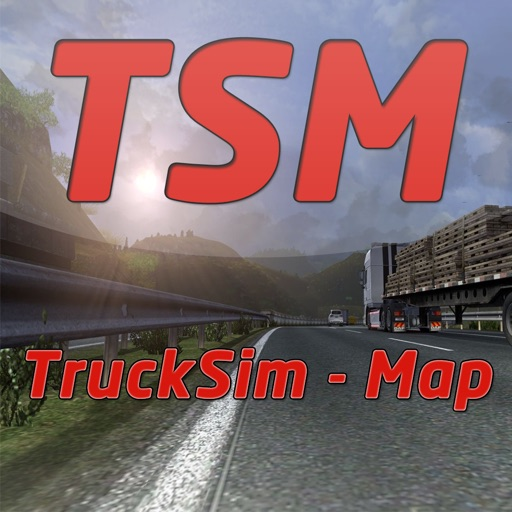 Trucksim-Map