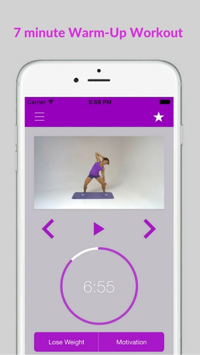 Warm Up Cardio Exercises and Workout Routine screenshot one