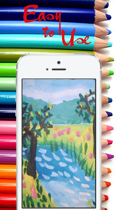 Drawing Desk:Paint,Sketch Book screenshot one