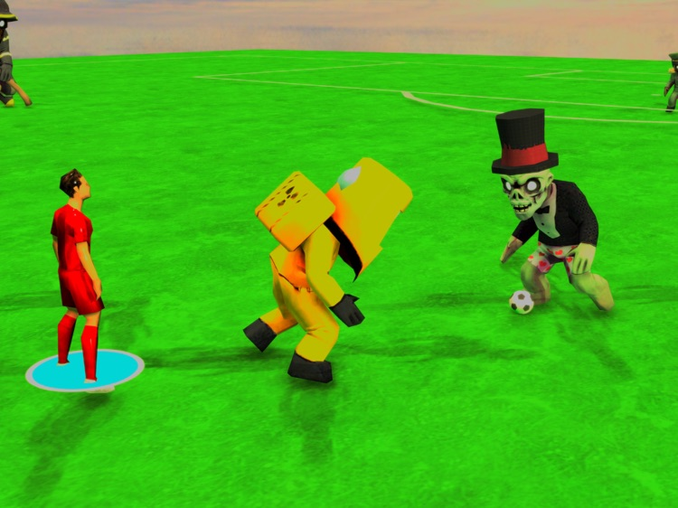 Zombie Soccer Stars! HD Lite screenshot-0