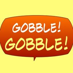 Gobble! Animal Noise Comic Bubbles