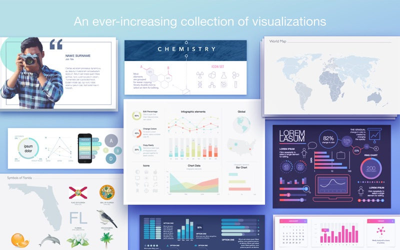 Infographics Maker - Templates Screenshots