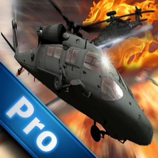 Air Combat Helicopter 3 Pro - Black Hawk Air Game