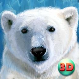 Wild White Polar Bear Simulator Full