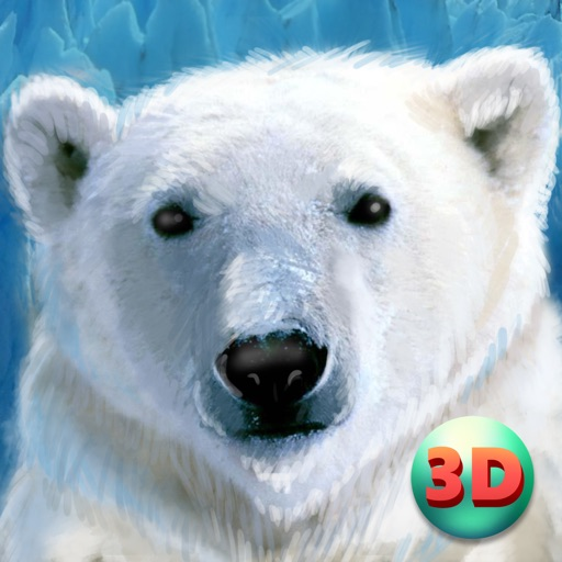 Wild White Polar Bear Simulator Full