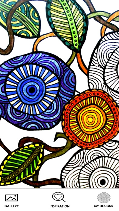 Mandala Coloring Book Pages for Adult - Patterns Coloring Therapy Stress Reliever free Resources hack