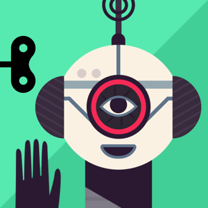 The Robot Factory by Tinybop app