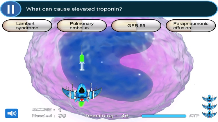 ER Rotation Study Game for the USMLE Step 2 CK, COMLEX Level 2 CE, & PANCE FULL (SCRUB WARS) screenshot-0
