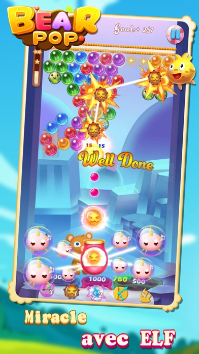 Screenshot #2 pour Bear Pop - Bubble Shooter Game