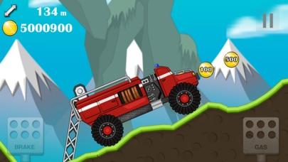 赛车总动员 开车小游戏 hill climb 4x4 真实开车游戏 越野 儿童 赛车 游戏 App 截图