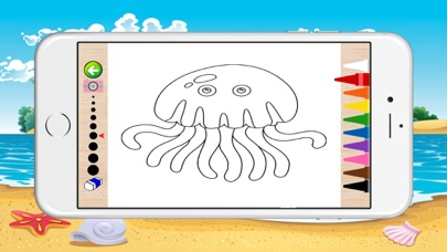 Underwater Coloring Book for Children screenshot two