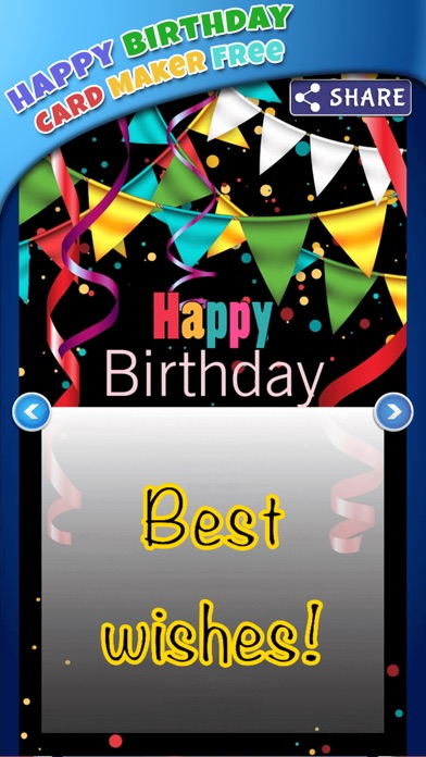 誕生日 カード 編集者 無料 - 作ります グリーティングカード そして 招待状紹介画像3