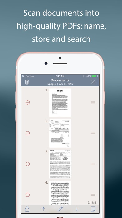 TurboScan™: document scanner app image